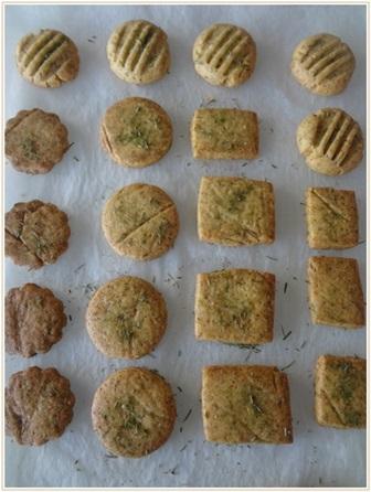 スギナのクッキー